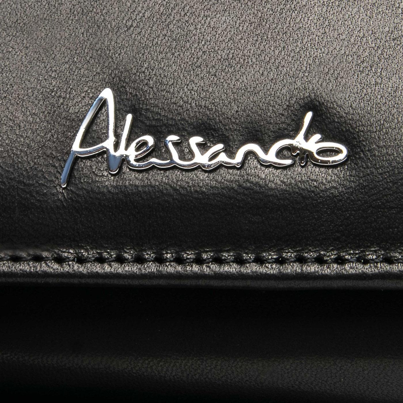 Кошелек NAPPA кожа ALESSANDRO PAOLI W501 black
