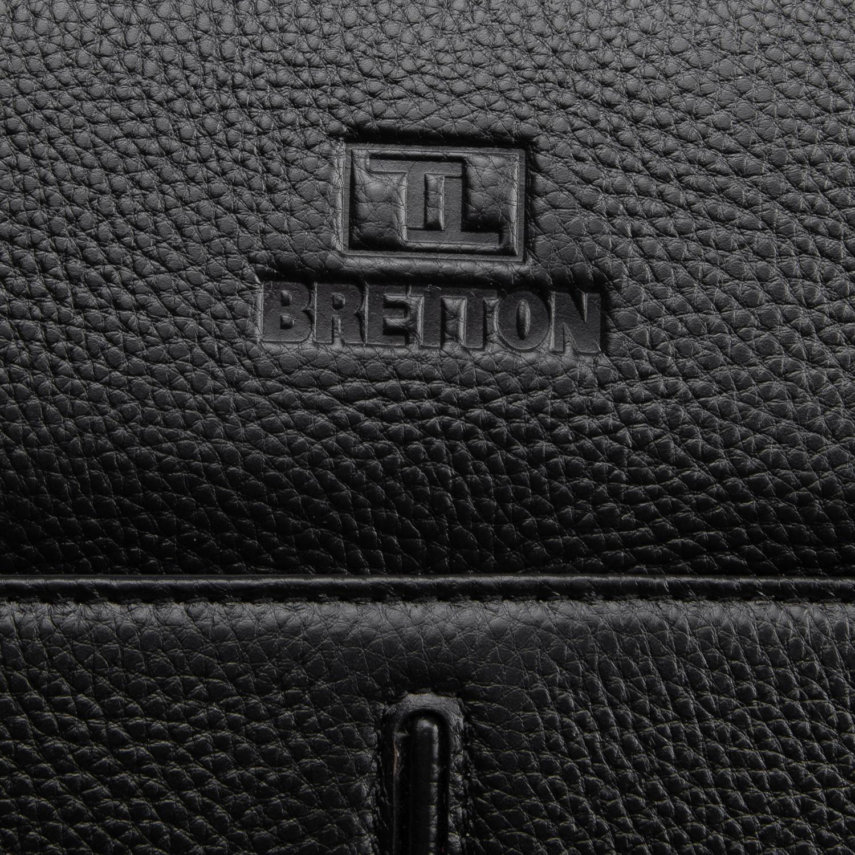 Рюкзак Городской кожаный BRETTON BP 8003-78 black - фото 3