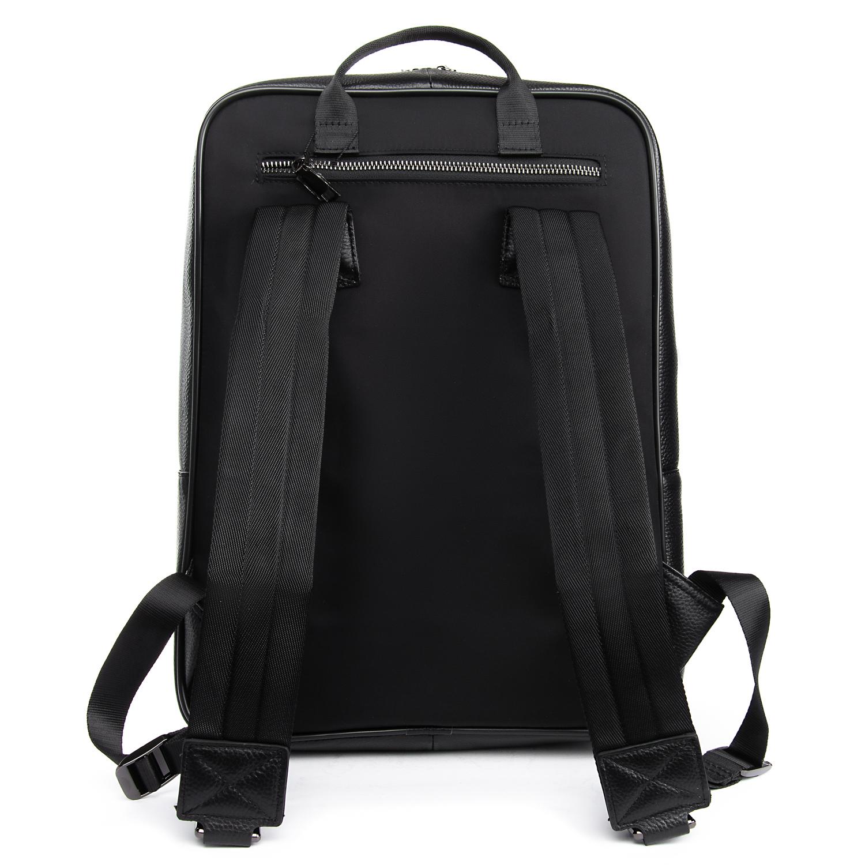 Рюкзак Городской кожаный BRETTON BP 8003-78 black - фото 4