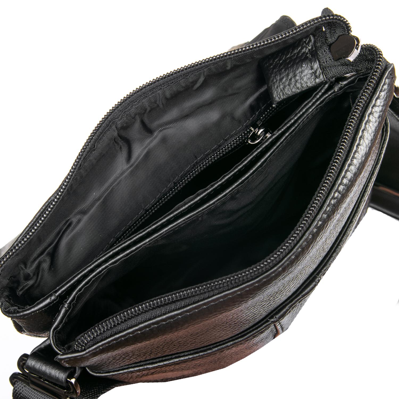 Сумка Мужская Планшет кожаный BRETTON BP 3387-4 black - фото 4