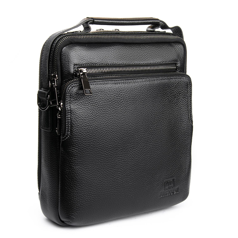 Сумка Мужская Планшет кожаный BRETTON BP 5270-3 black