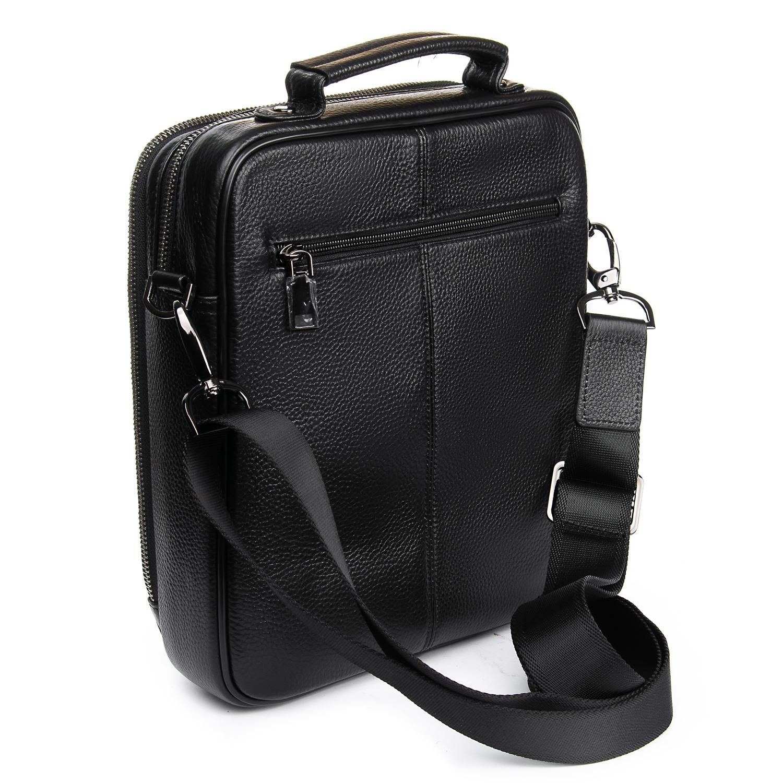 Сумка Мужская Планшет кожаный BRETTON BP 5328-3 black - фото 4