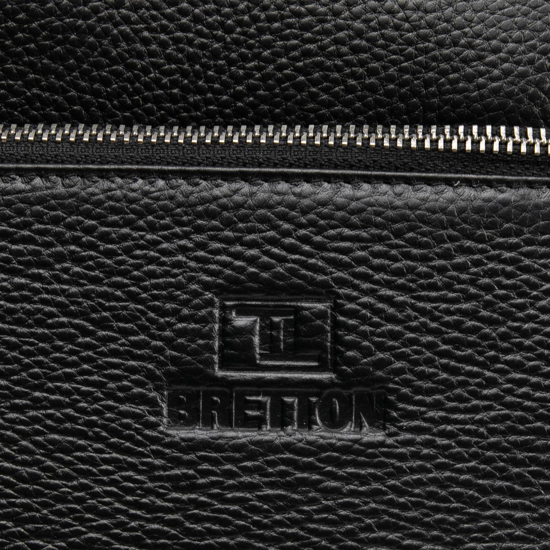 Сумка Мужская Планшет кожаный BRETTON BP 3565-3 black - фото 3