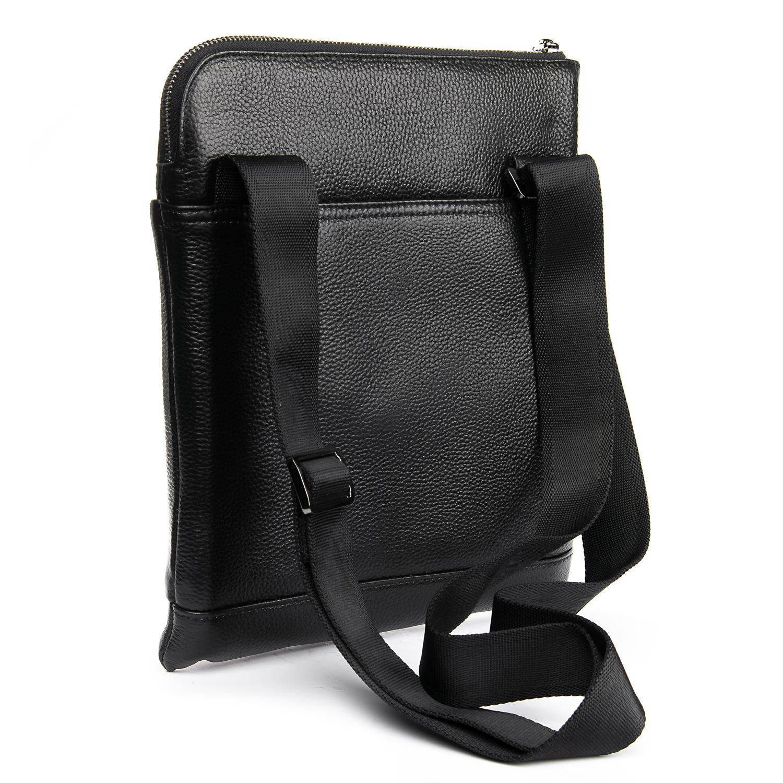 Сумка Мужская Планшет кожаный BRETTON BP 3565-3 black - фото 4