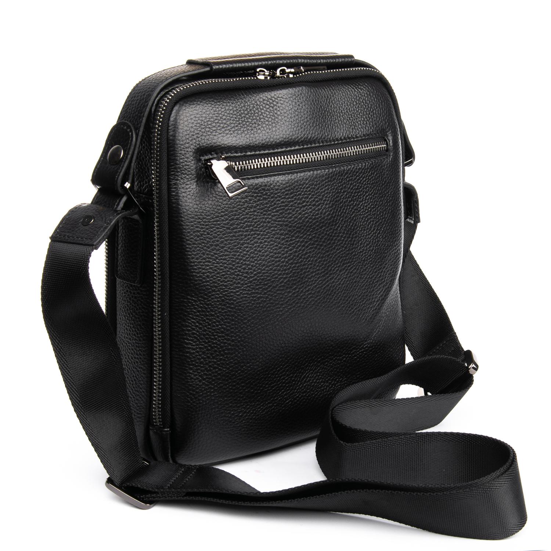 Сумка Мужская Планшет кожаный BRETTON BP 5496-4 black