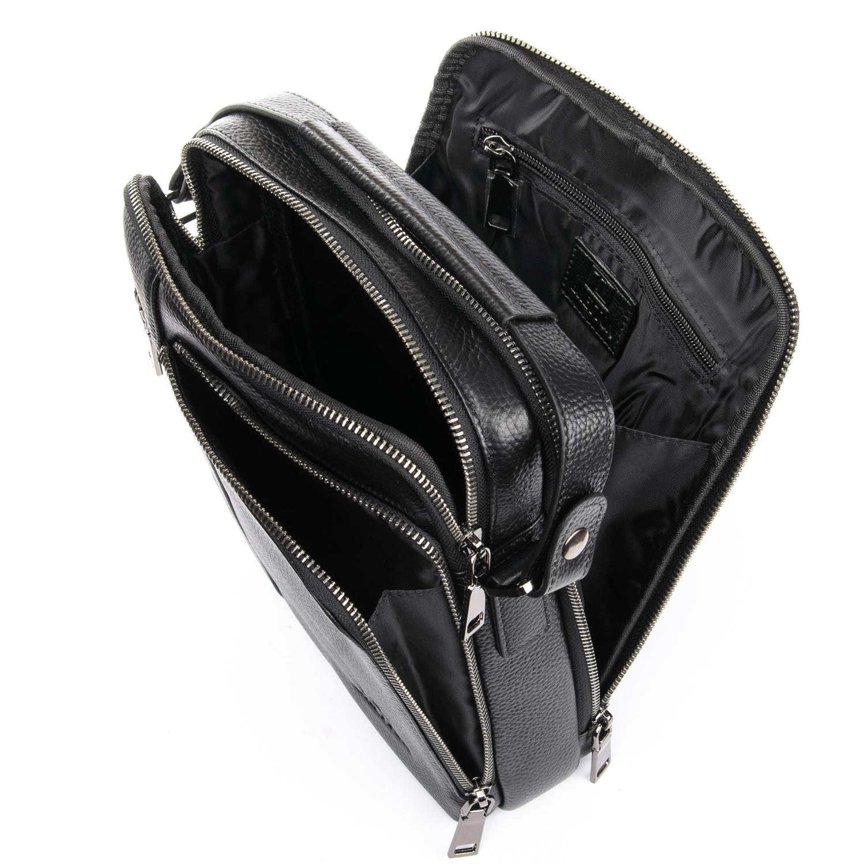 Сумка Мужская Планшет кожаный BRETTON BP 5496-4 black - фото 5