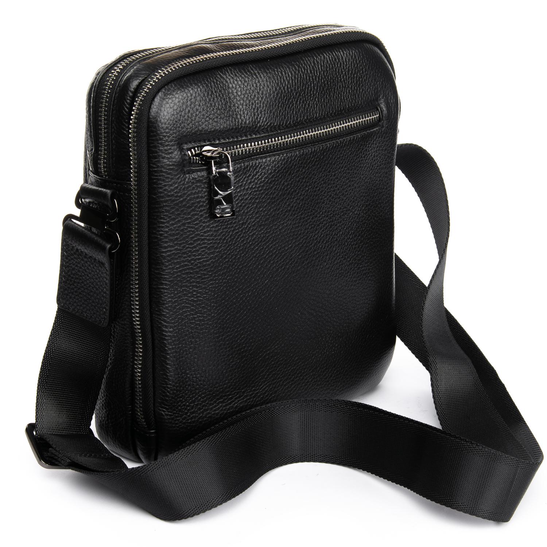 Сумка Мужская Планшет кожаный BRETTON BP 5477-4 black - фото 4
