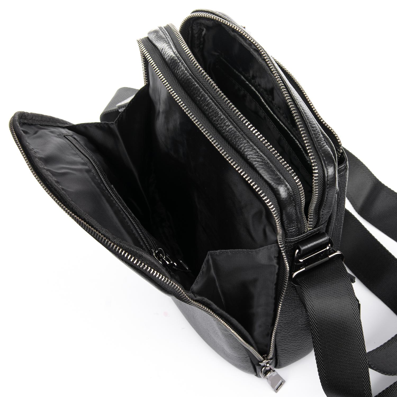 Сумка Мужская Планшет кожаный BRETTON BP 5477-4 black - фото 5