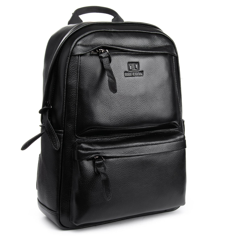 Рюкзак Городской кожаный BRETTON BP 2004-9 black