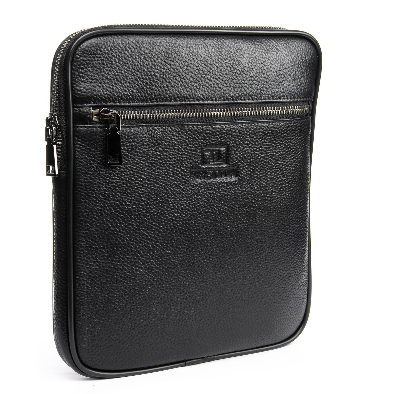Сумка Мужская Планшет кожаный BRETTON BP 72970-2 black
