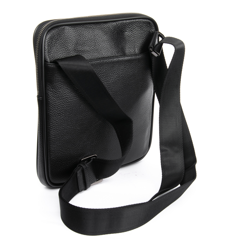 Сумка Мужская Планшет кожаный BRETTON BP 72970-2 black - фото 4