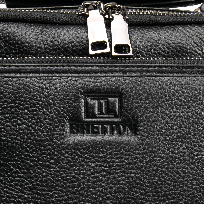 Сумка Мужская Планшет кожаный BRETTON BP 5477-3 black