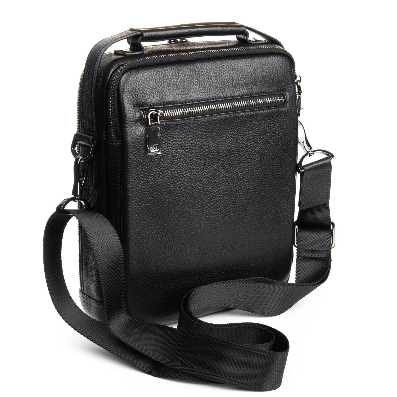 Сумка Мужская Планшет кожаный BRETTON BP 5477-3 black - фото 4