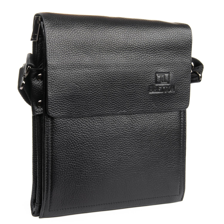 Сумка Мужская Планшет кожаный BRETTON BP 1631-4 black
