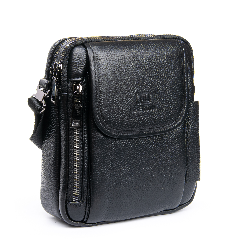 Сумка Мужская Планшет кожаный BRETTON BP 3513-5 black