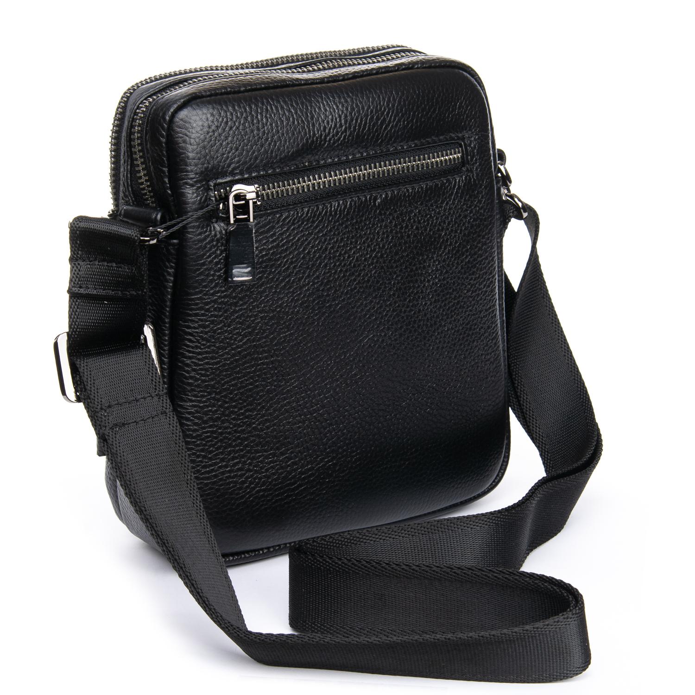 Сумка Мужская Планшет кожаный BRETTON BP 3513-5 black - фото 3