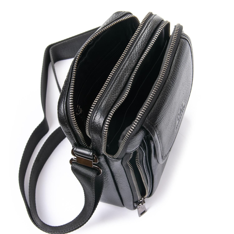 Сумка Мужская Планшет кожаный BRETTON BP 3513-5 black - фото 4