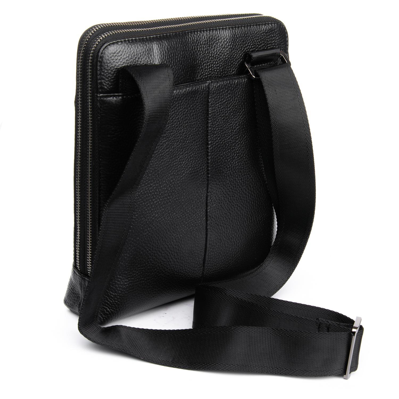 Сумка Мужская Планшет кожаный BRETTON BP 3563-3 black - фото 4
