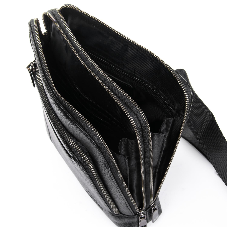 Сумка Мужская Планшет кожаный BRETTON BP 3563-3 black - фото 5