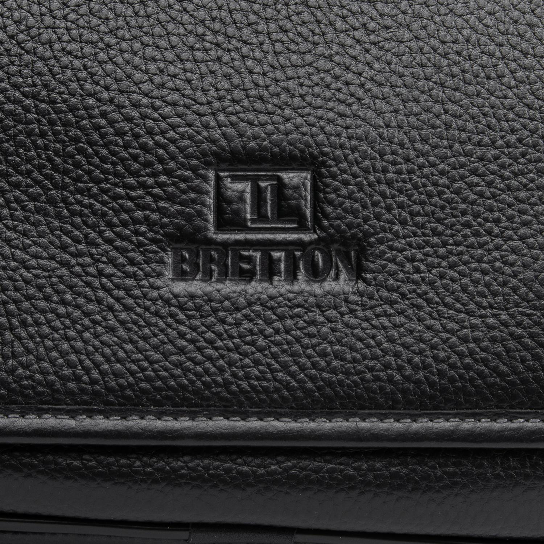 Сумка Мужская Планшет кожаный BRETTON BP 5243-4 black - фото 3