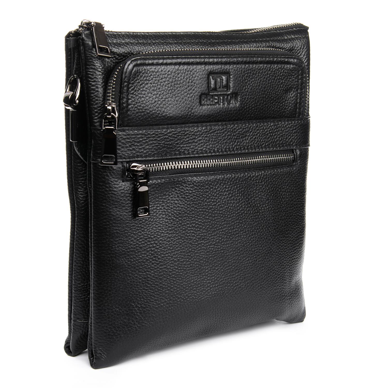 Сумка Мужская Планшет кожаный BRETTON BP 5484-3 black