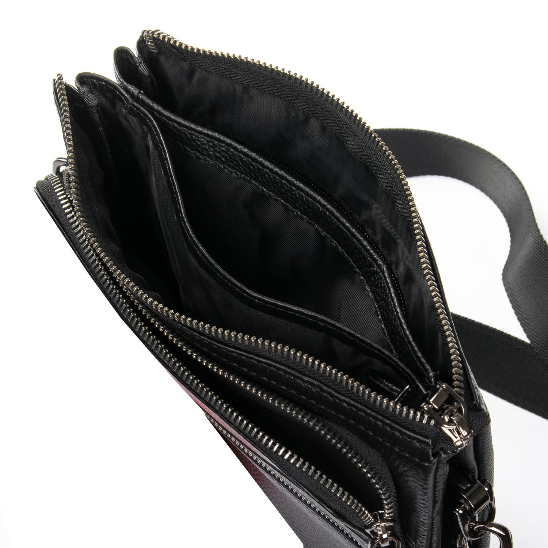 Сумка Мужская Планшет кожаный BRETTON BP 5484-3 black - фото 5