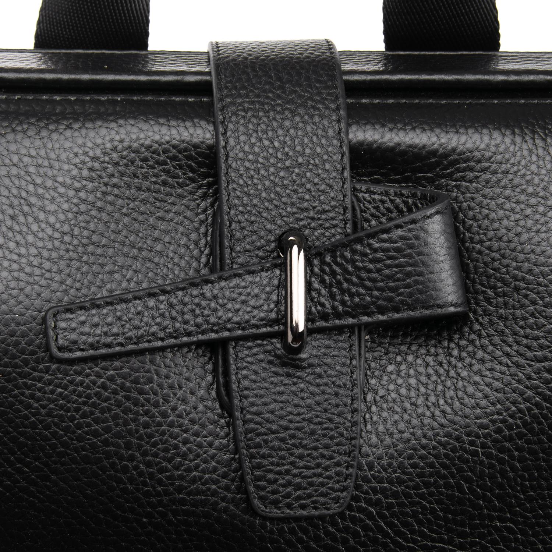 Рюкзак Городской кожаный BRETTON BP 2004-7 black - фото 3