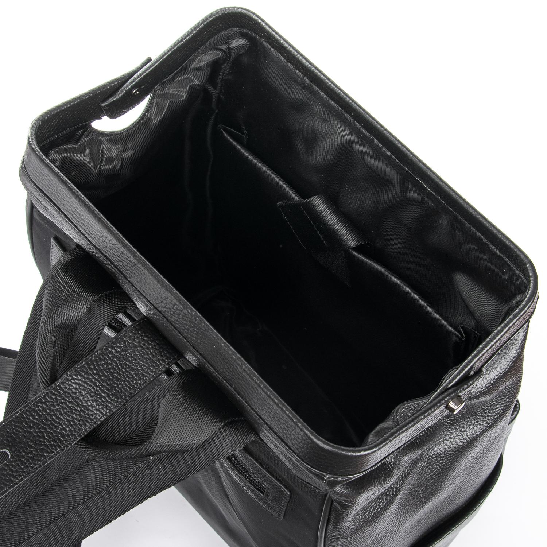Рюкзак Городской кожаный BRETTON BP 2004-7 black - фото 5