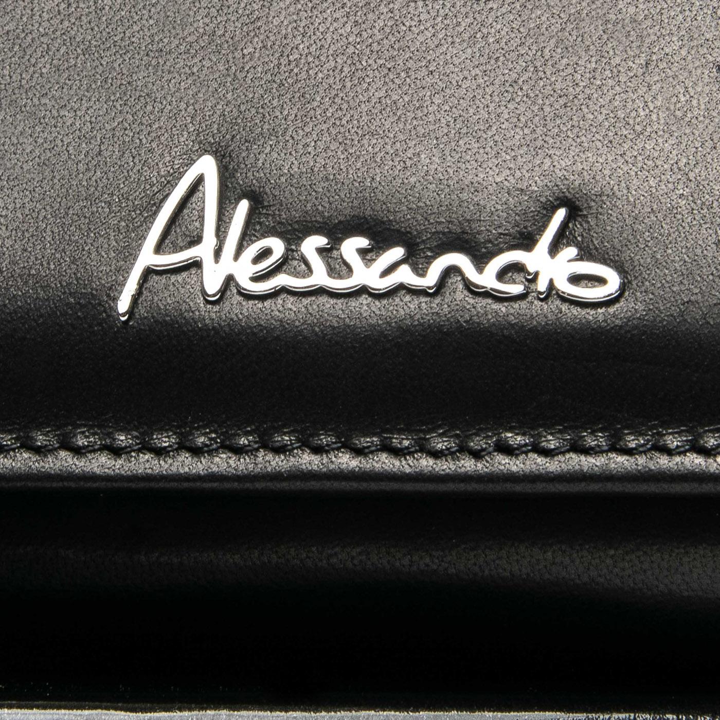 Кошелек NAPPA кожа ALESSANDRO PAOLI W501-2 black - фото 3