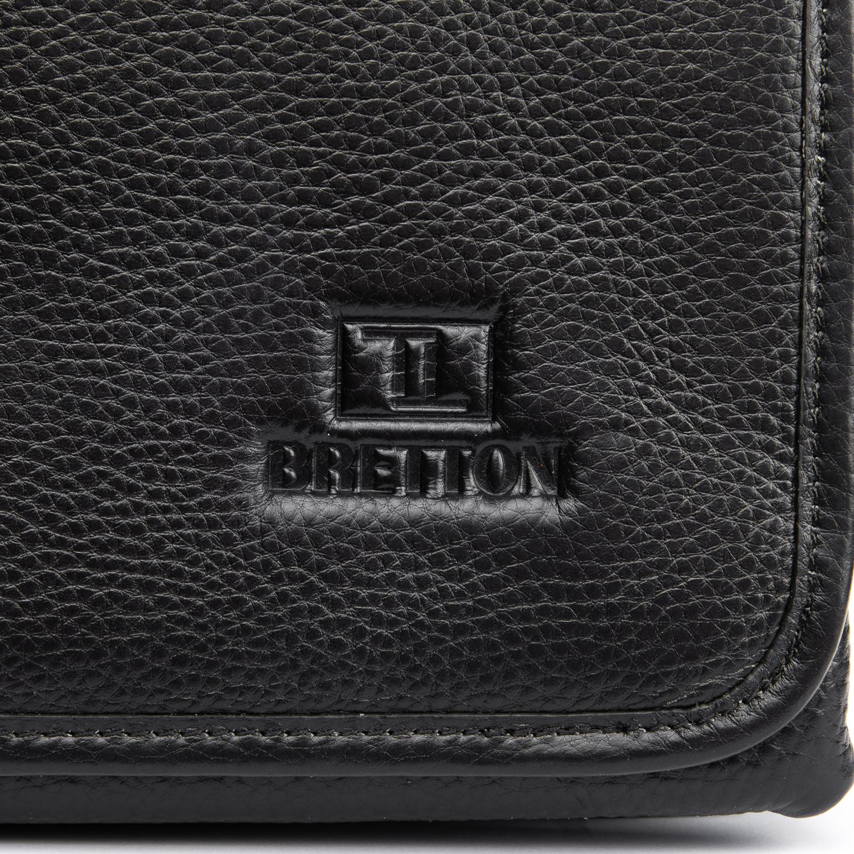 Сумка Мужская Планшет кожаный BRETTON BP 5467-3 black - фото 3