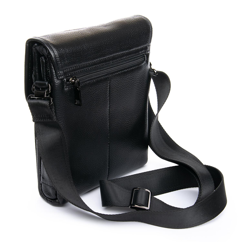 Сумка Мужская Планшет кожаный BRETTON BP 3594-4 black - фото 3