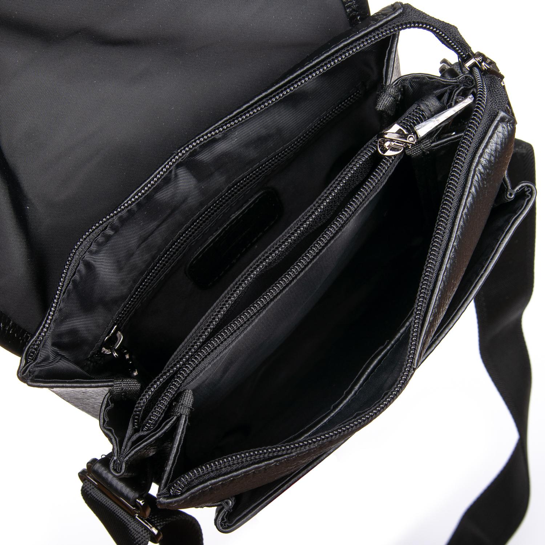 Сумка Мужская Планшет кожаный BRETTON BP 3594-4 black - фото 4