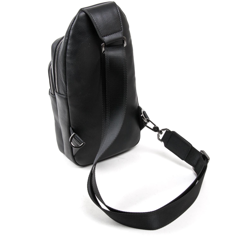 Рюкзак Городской кожаный BRETTON BE 7936-42 black - фото 4