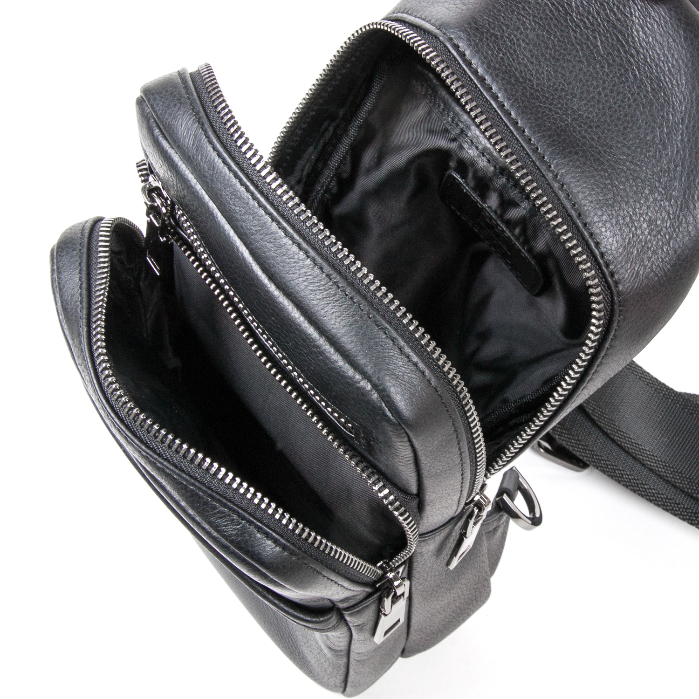 Рюкзак Городской кожаный BRETTON BE 7936-42 black - фото 5