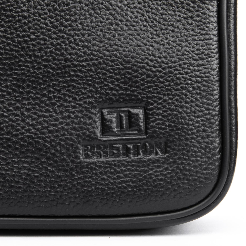 Сумка Мужская Планшет кожаный BRETTON BP 2016-4 black