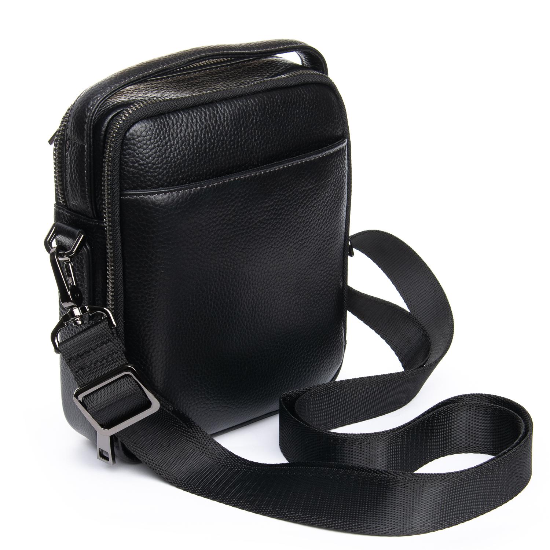 Сумка Мужская Планшет кожаный BRETTON BP 407-73 black - фото 4