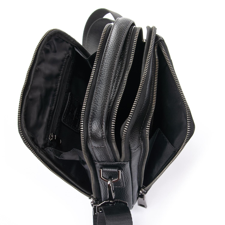 Сумка Мужская Планшет кожаный BRETTON BP 407-73 black - фото 5