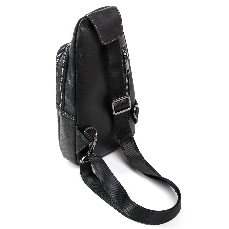Рюкзак Городской кожаный BRETTON BE 2002-3 black - фото 4