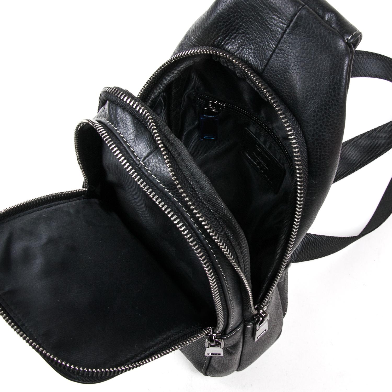 Рюкзак Городской кожаный BRETTON BE 2002-3 black - фото 5