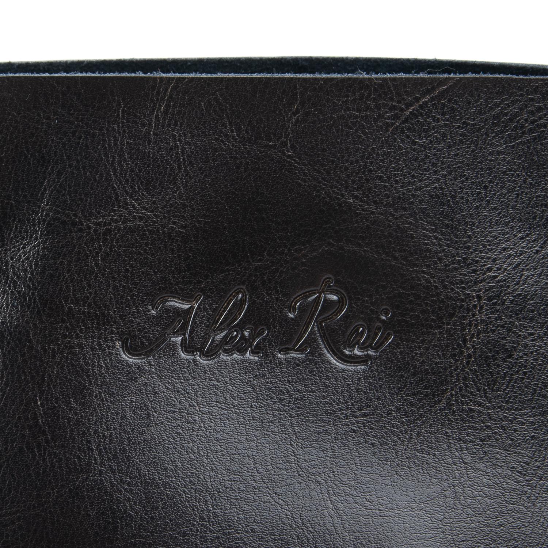 Сумка Женская Классическая кожа ALEX RAI 08-1 8603 grey