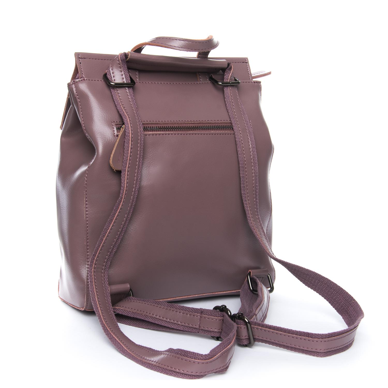 Сумка Женская Рюкзак кожа ALEX RAI 08-2 3206 purple