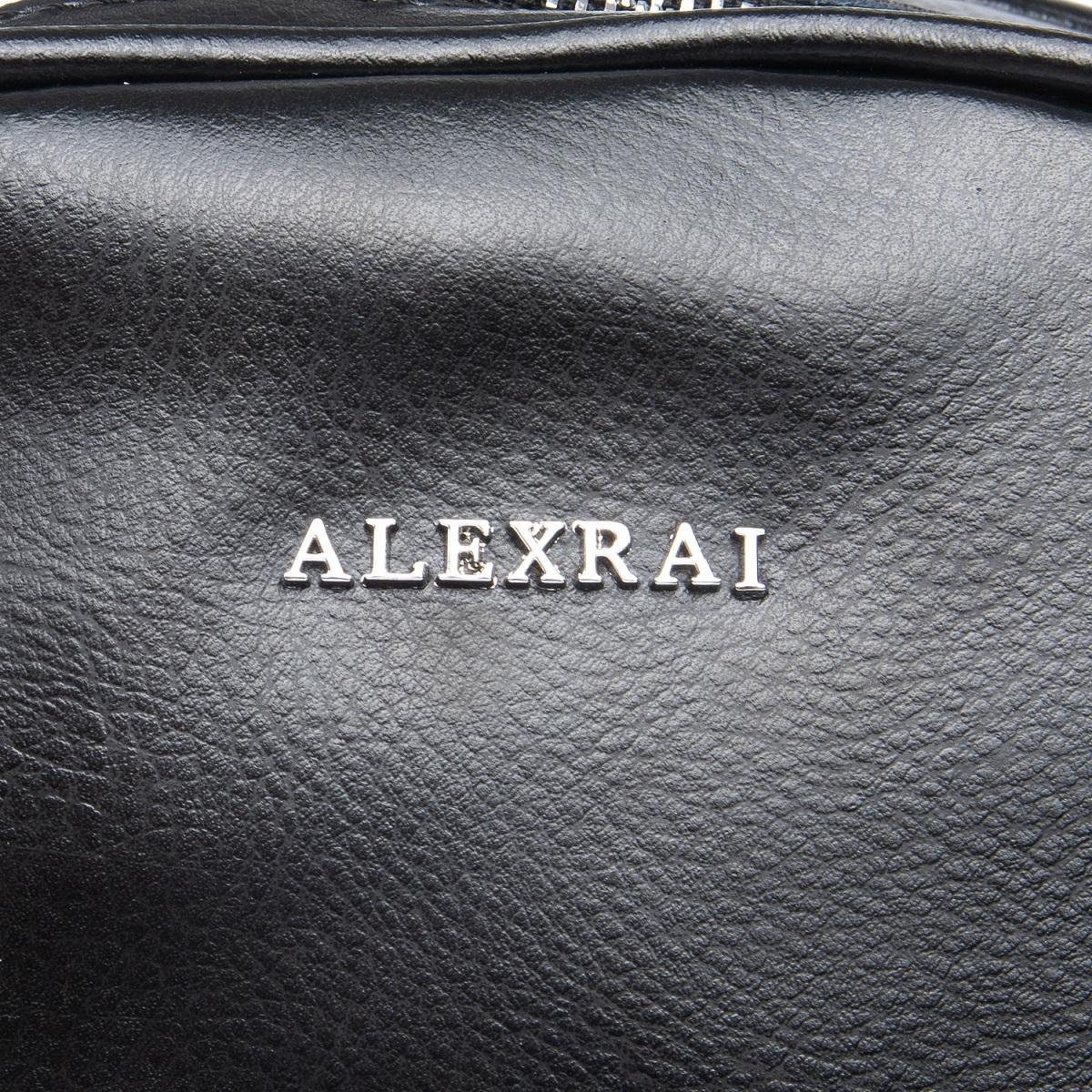 Сумка Женская Рюкзак кожа ALEX RAI 08-2 8695-2 black - фото 5