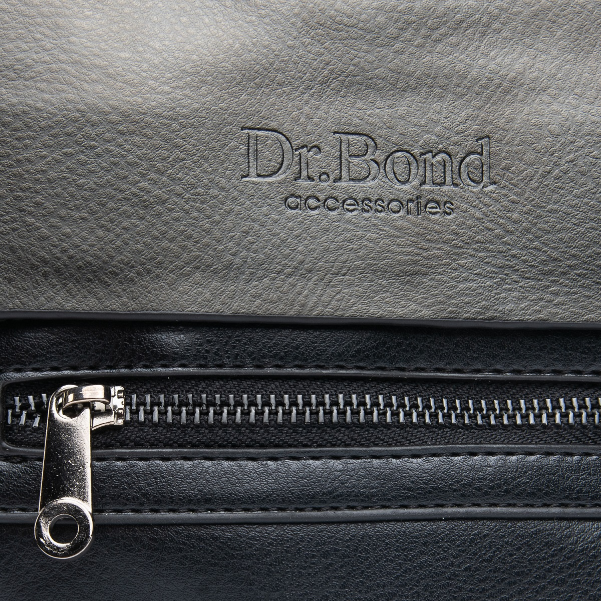 Сумка Мужская Планшет иск-кожа DR. BOND GL 317-1 black - фото 3