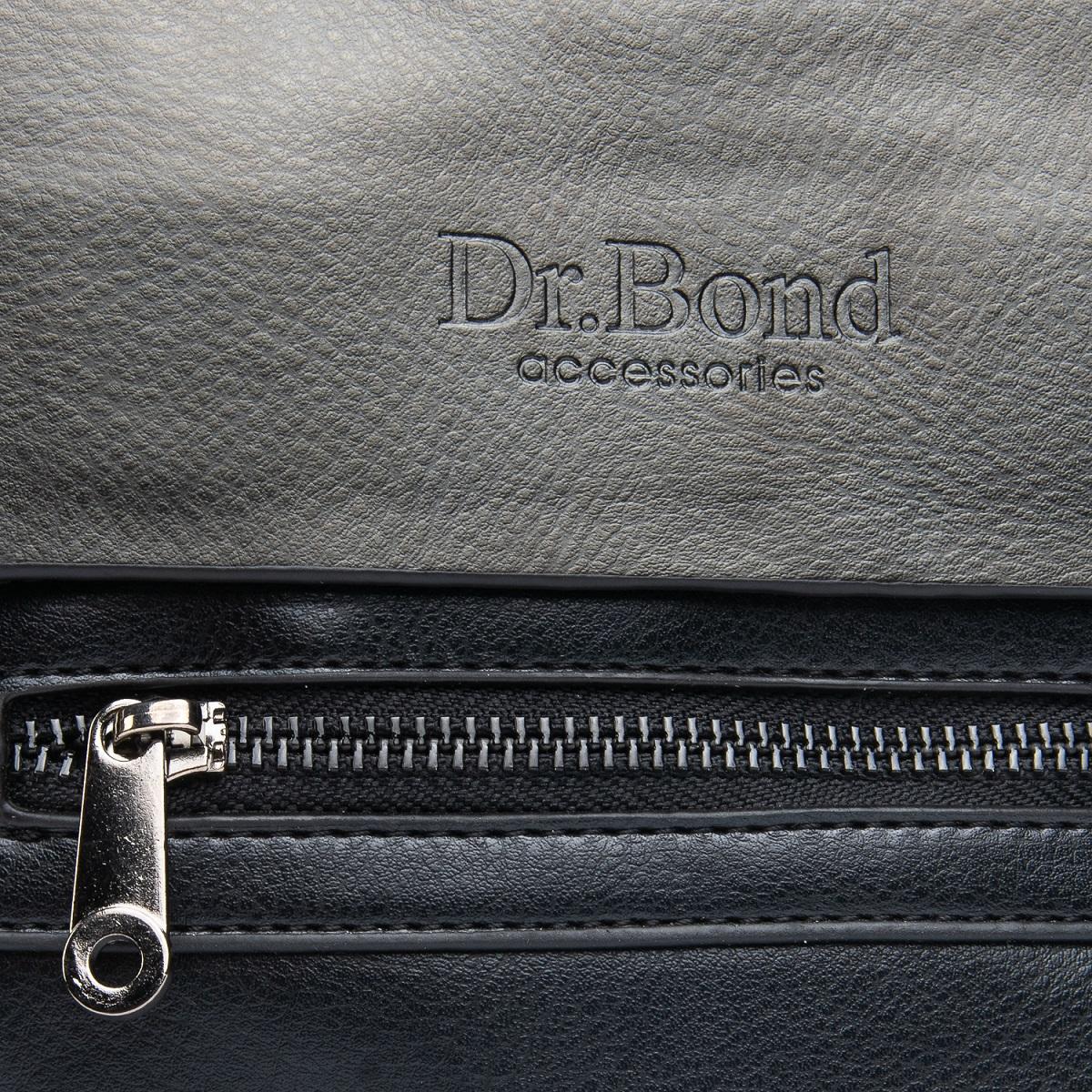 Сумка Мужская Планшет иск-кожа DR. BOND GL 317-1 black