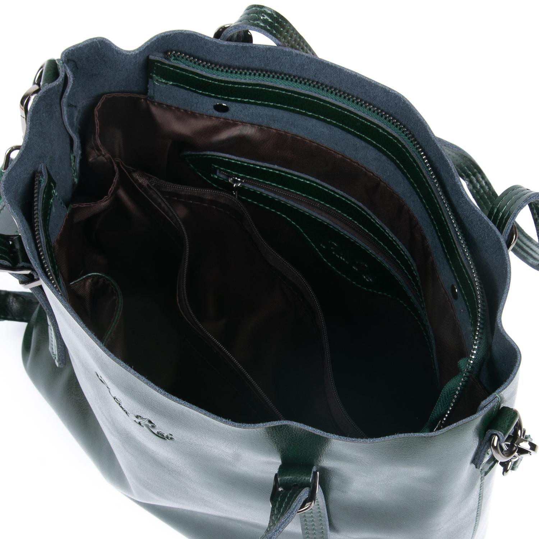 Сумка Женская Классическая кожа ALEX RAI 08-1 8603 green