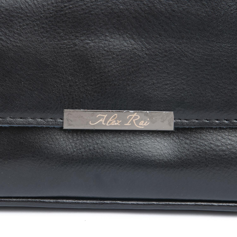 Сумка Женская Клатч кожа ALEX RAI 08-3 2227-220 black - фото 4