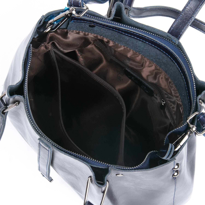 Сумка Женская Классическая кожа ALEX RAI 08-1 317-64 blue - фото 4