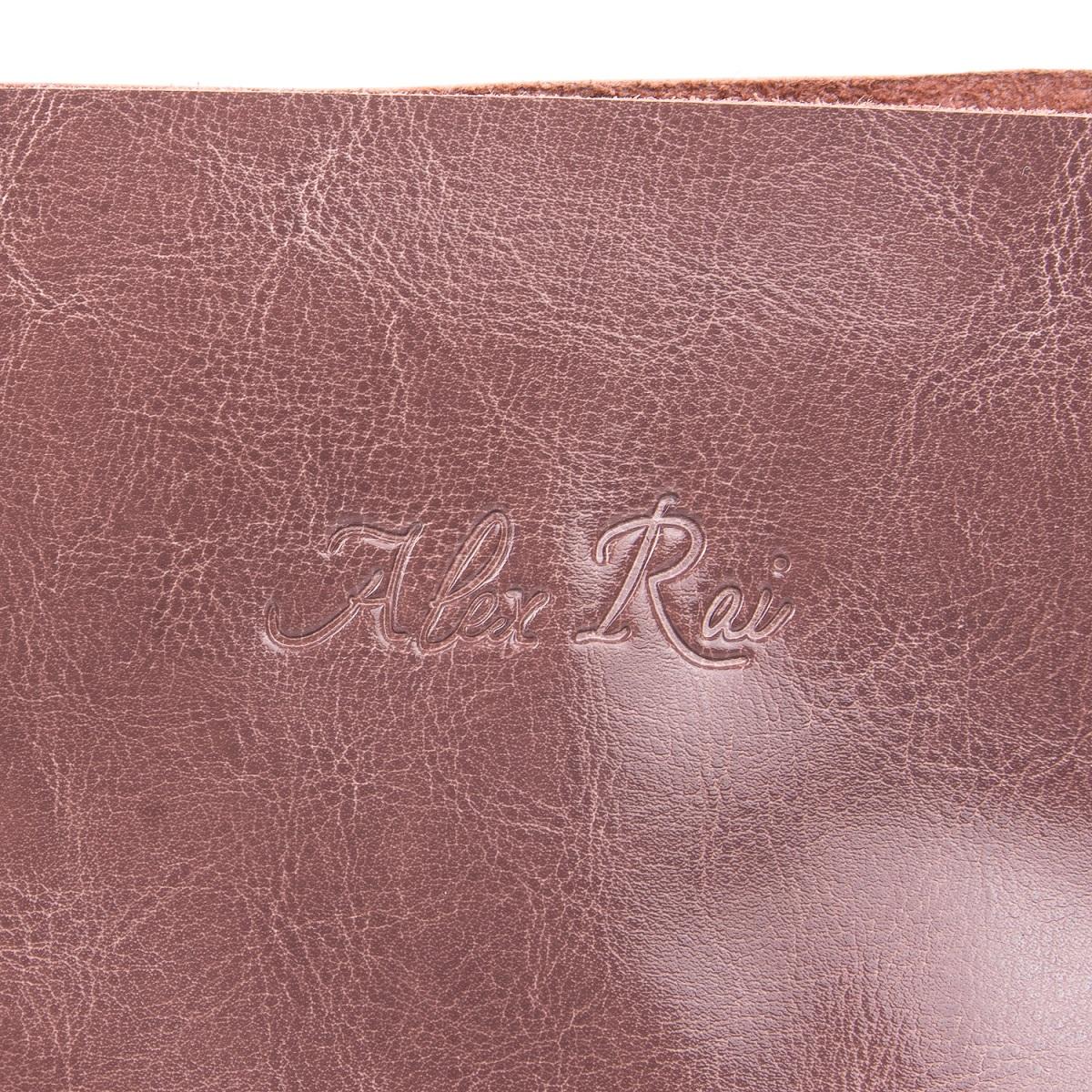 Сумка Женская Классическая кожа ALEX RAI 08-1 8603 violet - фото 5