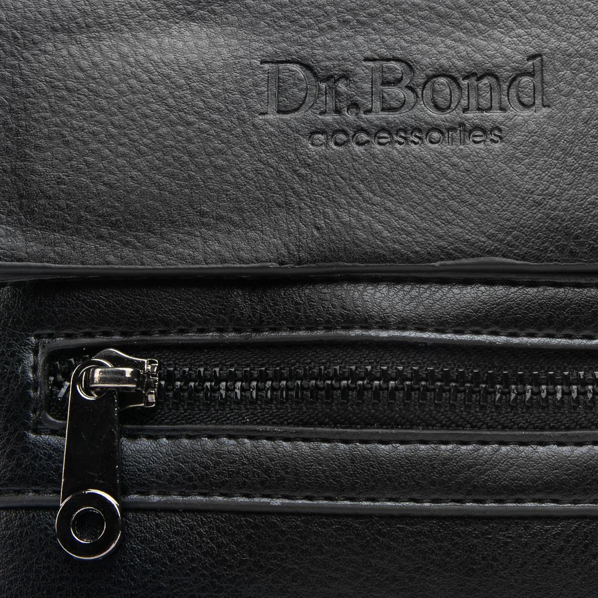 Сумка Мужская Планшет иск-кожа DR. BOND GL 317-0 black - фото 3