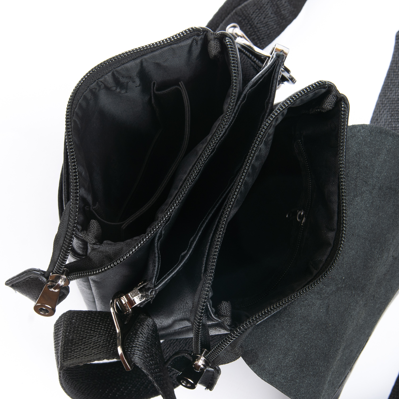 Сумка Мужская Планшет иск-кожа DR. BOND GL 318-0 black - фото 4